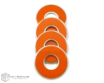 Orange-Light VVashers™ - Set of 4